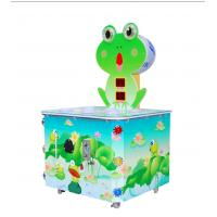 Best Accurate Record Scores Kids Arcade Machine Hitting Frog Game For 1 Players wholesale