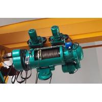 Best 5 Ton / 10 Ton Industrial Electric Wire Rope Hoist With Wireless Remote Control wholesale