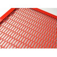 Buy cheap ISO9001 Spraying Aluminum Expanded Metal Mesh For Cab Truck Dividers from wholesalers