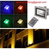 Best New Remote Control 50W RGB LED Waterproof RGB Floodlights Flood Lights Outdoor wholesale