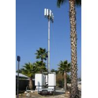Best Vehicle Mounted Pneumatic Telescopic Mast Mobile Light Tower With tripod wholesale
