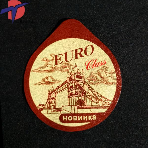 Cheap Aluminium foil roll for sealing machine,aluminium foil packaging roll for wine bottle/cup for sale