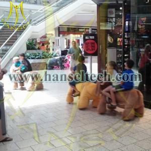 China Hansel 2016 Lion Plush Stuffed Animal Electronic Racing Car Game Machine Mall Rides on sale