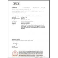 Shenzhen Lian Da Sponge Product Co., Ltd. Certifications
