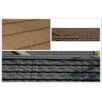 Cheap ECO Classic Aluminum / Zinc Colorful Stone Coated Metal Roof Tiles for building mansion for sale