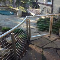 Best Wire Rope Deck Railing_Wire Mesh Terrace Railings_Outdoor Stainless Stee Tension Wire Cable Railing wholesale