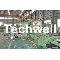 Best 1 - 6mm Automatic Steel Metal Coil Cut To Length Line With 0 - 40m/min Speed wholesale
