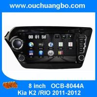 China Ouchuangbo Car GPS Sat Nav DVD Stereo for Kia K2 /RIO 2011-2012 iPod USB Video Player OCB-8044A on sale