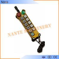Buy cheap Telecrane Famous Brand Digital Wireless F24 Series Remote Control Over The Whole World from wholesalers