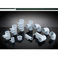 Best PVC Plumbing Parts Plastic Water Distribution Manifold , Tee , Elbow For Connecting wholesale