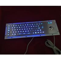 304 stainless steel illuminated keyboard with blue leds