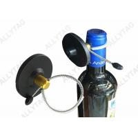 Best Wine RF Liquor Security Tags 50mm Diameter With Strong Cable  / EAS Bottle Tag wholesale