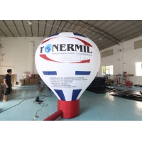 Buy cheap Roof Advertising Giant Model Hot Air Balloon Shape Inflatable Ground Balloons from wholesalers
