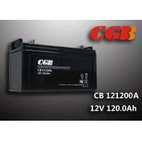 Cheap Power Energy Solar Wind Sealed Lead Acid Battery 12V 120AH CB121200A for sale