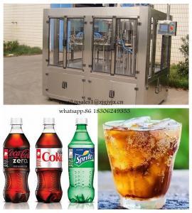 Best Complete Carbonated Soft Drink Bottling Machine , Carbonated Beverage Filling Machine wholesale