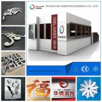 Quality IPG Carbon Steel / Stainless Steel Laser Cutting Machine with 45m/min Speed wholesale