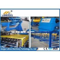 Best 8-15m/min Capacity Downspout Roll Forming Machine 20 Stations Hydraulic Cutting Type wholesale