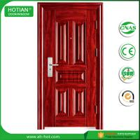 Best Ce High Quality Swing Security Steel Door Made In China Standard Size of Main Gate Modern American Steel Door wholesale