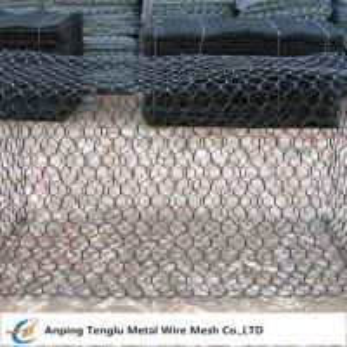 Cheap Wire Mesh Gabion Box|Foldable Gabion Cage 0.5x1x1m Customized Size for sale