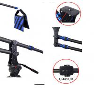 Cheap Carbon fiber Portable Mini Camera Crane mini Jib Jib Arm Crane for sale