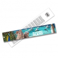 China Promotional PET 3D Lenticular Printing Services Plastic Rulers / Lenticular Photo Printing on sale