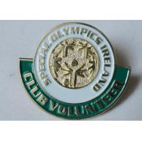 Best Metal Pewter / Iron / Brass Special Olympics Ireland Custom Enamel Pins, Custom Made Pins wholesale