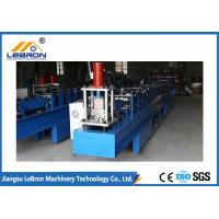 Best Panasonic PLC Control Full Automatic Shutter Door Guide Roll Forming Machine Long Time Service Time wholesale