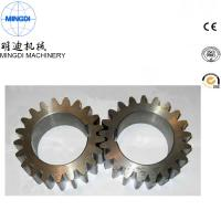 Quality Black Finished Carton Steel Metal Spur Gear For Equipment ISO9000 wholesale