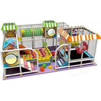 China New Simple Design Indoor Playground Equipment 20GP Volume Soft Climbing Castle on sale