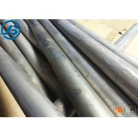 Best Semi Continue Casting Magnesium Alloy Bar ZK60 Silver Extruded Magnesium Bar Stock wholesale