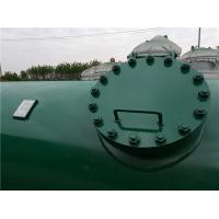 Cheap High Pressure Gas Storage Tanks For Emergency Oxygen Horizontal Low Alloy Steel Material for sale