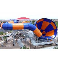 Best Aqua Park Tornado 60 Water Slide Durable Fiberglass FPR Material wholesale