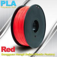Best PLA  Filament, 1.0kg /  roll ,1.75mm / 3.0mm  3D Printer Filament Red colors wholesale