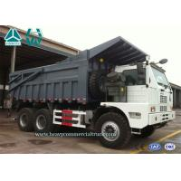 Best White Howo 6X4 High Efficiency Mining Dump Truck Front Tipping 371 HP wholesale