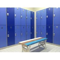 Best Durable / Lightweight Blue Office Storage Lockers H2000 × W933 × D450mm wholesale