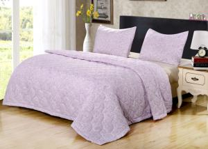 Buy cheap Solid Quilting 80gsm 150g/M2 Polyester Comforter Set from wholesalers