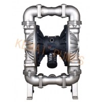 China 2 Air Operated Sanitary Double Diaphragm Salt Water Pump -   2 Pneumatic double diaphragm pump on sale