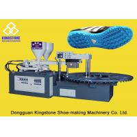 Cheap Rotary Double Color Shoe Sole Making Machine For Two Density Plastic Soles for sale