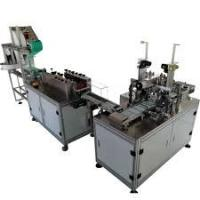 Buy cheap PLC Program Control Mask Making Machine For Disposable Flat Masks from wholesalers