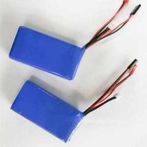 Best High quality 7.4v 2600mah li polymer battery 2s lipo battey pack wholesale