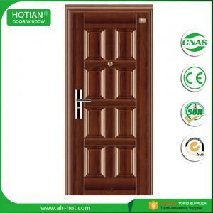 Best 2016 best sale lowes steel entry doors for main gate designs wholesale