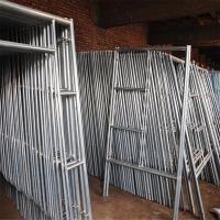 Best Mobile Platform Steel H Frame Construction Scaffolding Safety Walk Through Style wholesale