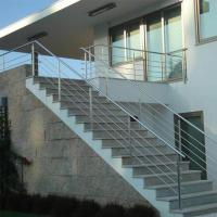 Cheap Stainless Steel Rod Railing / Post for Railing Easy Installation for sale