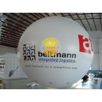 Best White Dia 4m inflatable advertising helium balloons with 0.20mm PVC Material for Promotion wholesale