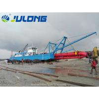 Best Julong 3500cbm/hr Cutter Suction Dredger for river sea sand and land reclaimation wholesale
