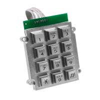 Best Metal Waterproof Door Phone Keypad Corrosion Resistance Includes 7 Pin Connector wholesale