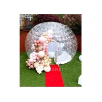 Best 4m Transparent Inflatable Tent Camping Blow Up Tent Outdoor Events Waterproof Inflatable Bubble Dome Tent wholesale