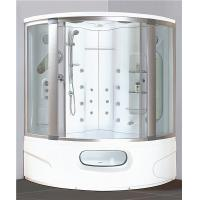 Best Modern Corner Shower Tub Combo , Steam Shower Cubicle Enclosure Bath Cabin With Jets wholesale