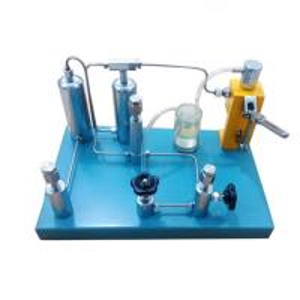 Best Hydraulic oxygen gas pressure gauge calibrator calibration standard pressure gauge calibration machine wholesale