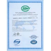 Jiangxi Longtai New Material Co., Ltd Certifications